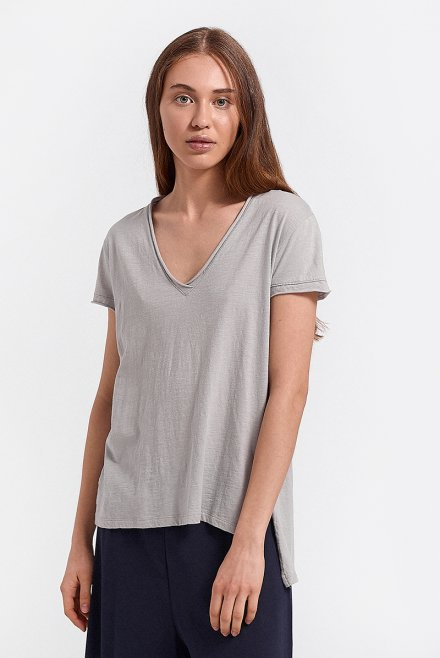 classic t-shirt with sleeves