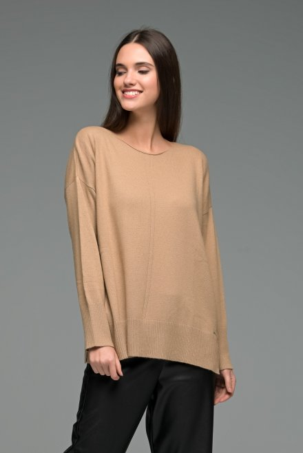 Cashmere blend oversized sweater